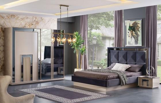 Nil Modernes Schlafzimmer - Schrank