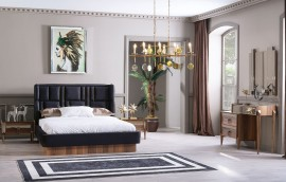 Beta Modernes Schlafzimmer - Doppelbettgestell
