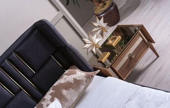 Beta Modernes Schlafzimmer - Nachttische