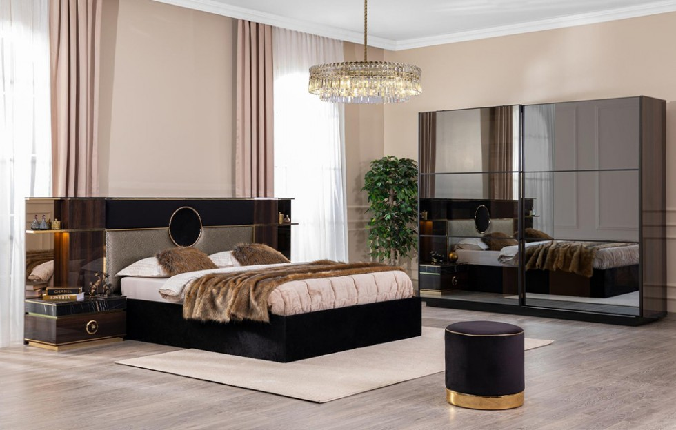 Bond Modernes Schlafzimmer