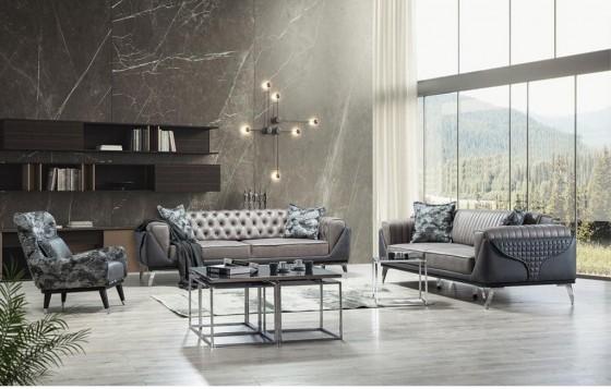 Ceylan Modernes Sofa Set 3+3+1