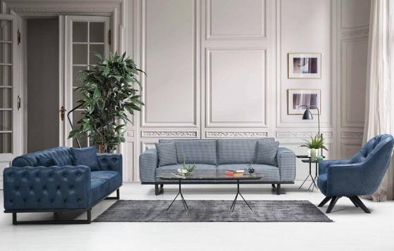 Tokyo Modernes Sofa Set 3+3+1