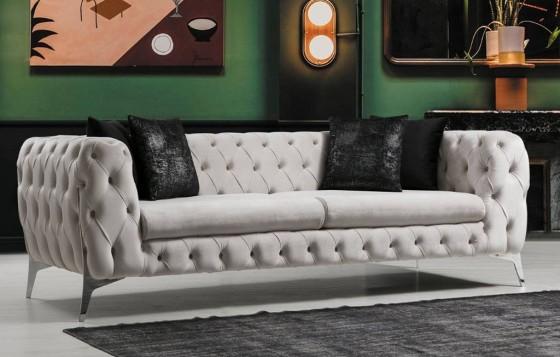 Venus Chester Sofa Set 3+3+1