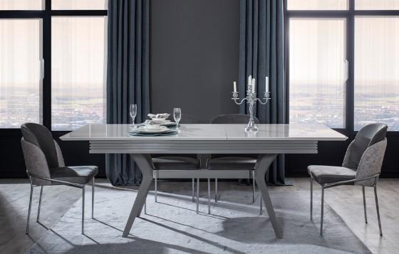 Rose Modernes Esszimmer - Tisch