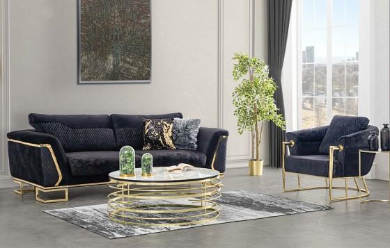 Deniz Modernes Sofa Set 3+3+1