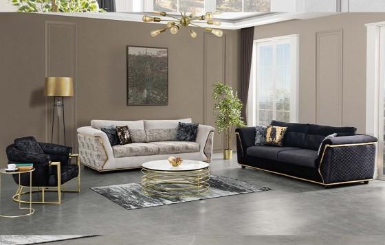 Diamond Modernes Sofa Set 3+3+1