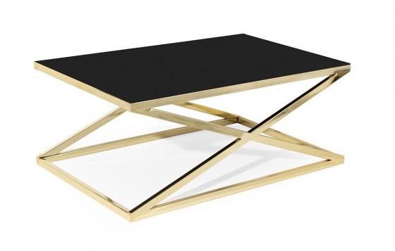 X Zen Couchtisch - Gold