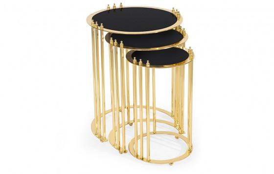 Royal Beistelltisch - Gold
