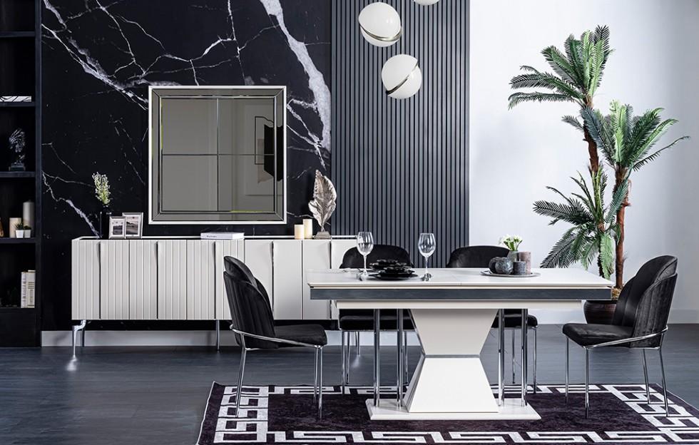 Beyza Modernes Esszimmer