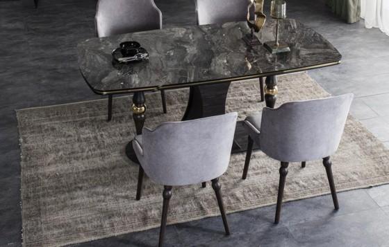 Zen Modernes Esszimmer - Tisch
