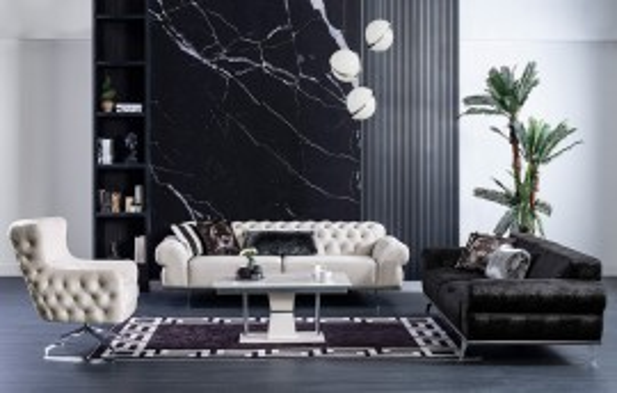 Beyza Modernes Sofa Set 3+3+1