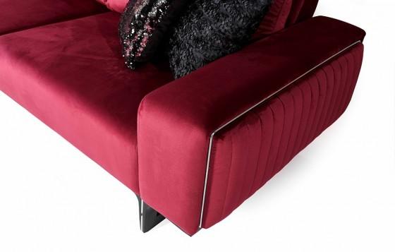 Alfa Modernes Sofa Set 3+3+1