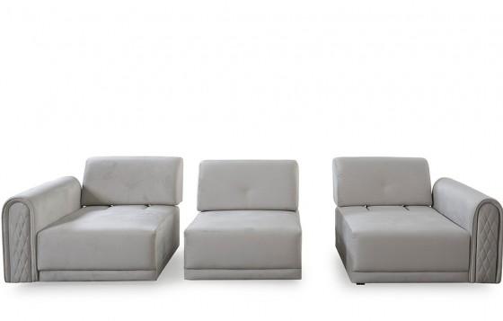 Vito Modernes Sofa Set 3+3+1