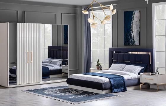 Titanium Gold Modernes Schlafzimmer