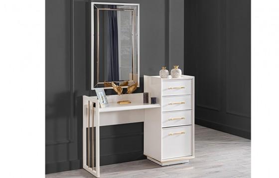Titanium Gold Modernes Schlafzimmer - Kommode
