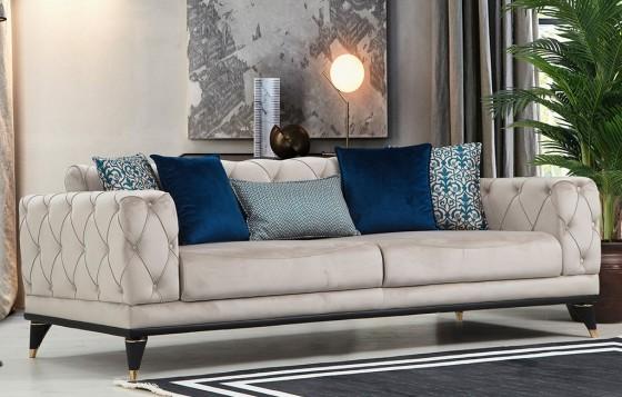 Romans Chester Sofa Set 3+3+1