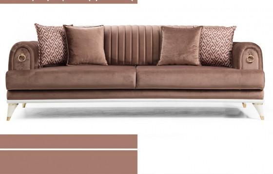 Mira Chester Sofa Set 3+3+1