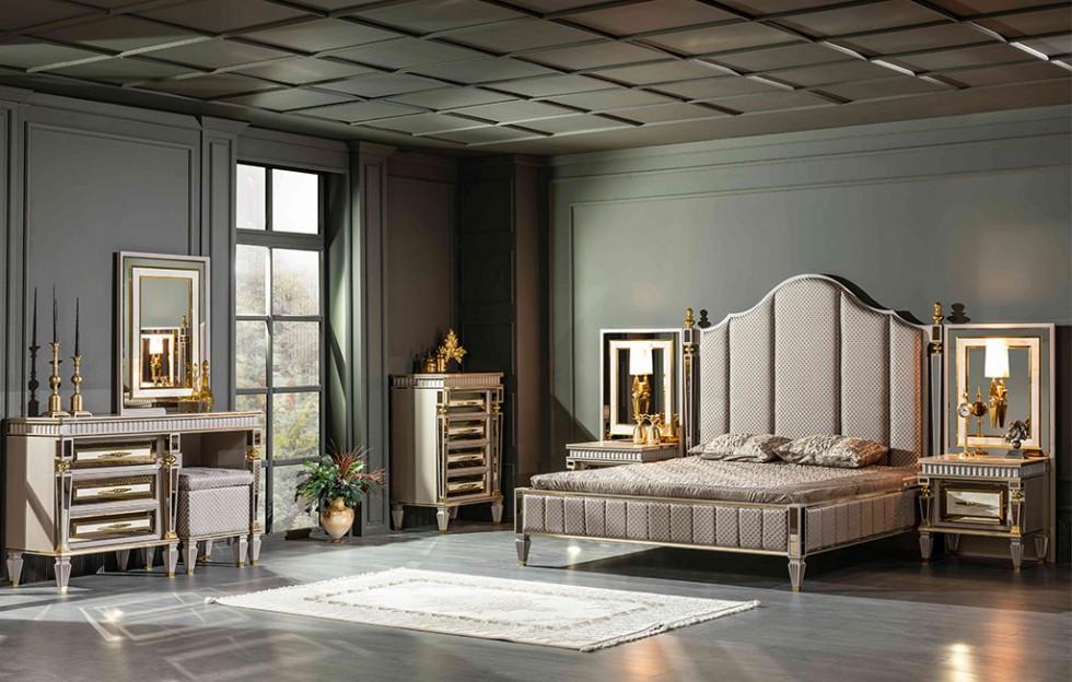 Istanbul Klassiche Schlafzimmer Creme